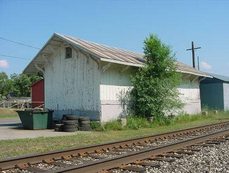 PRR Wayland Freight House 2003